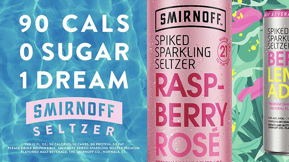 Smirnoff Sparkling Seltzer - Josie Kelly's Public House